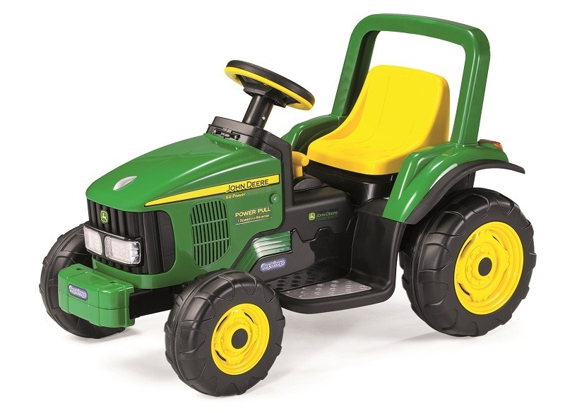 mal d tsk elektrick traktor john deere. Black Bedroom Furniture Sets. Home Design Ideas